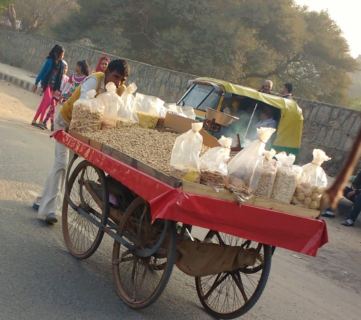 Delhi Winters and Moongphali Wala's (Peanut Vendor)