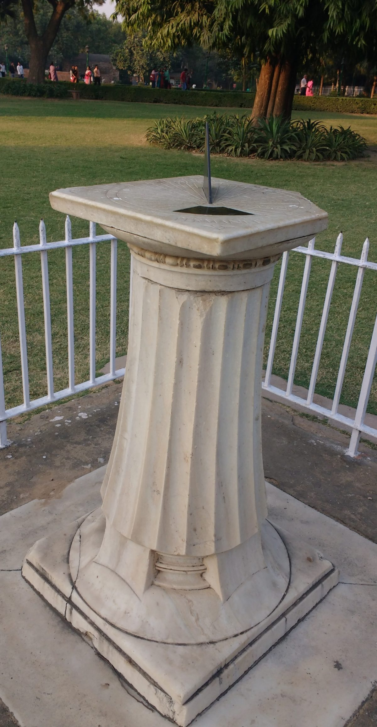 Sanderson's Sundial at Qutub Minar Complex