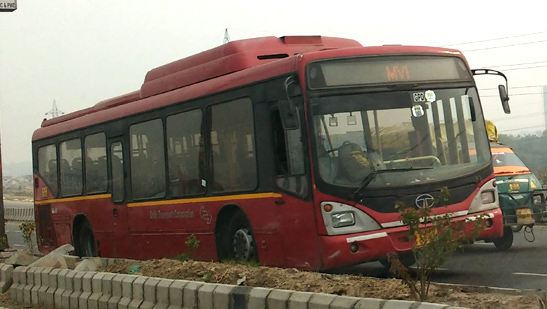 Rides in Delhi Transport Buses